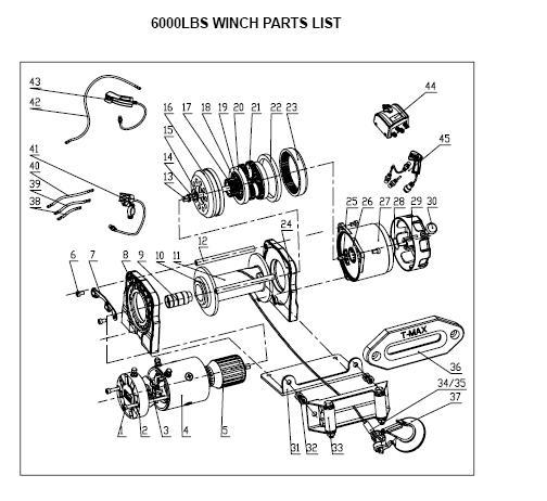 электрическая лебедка инструкция по эксплуатации